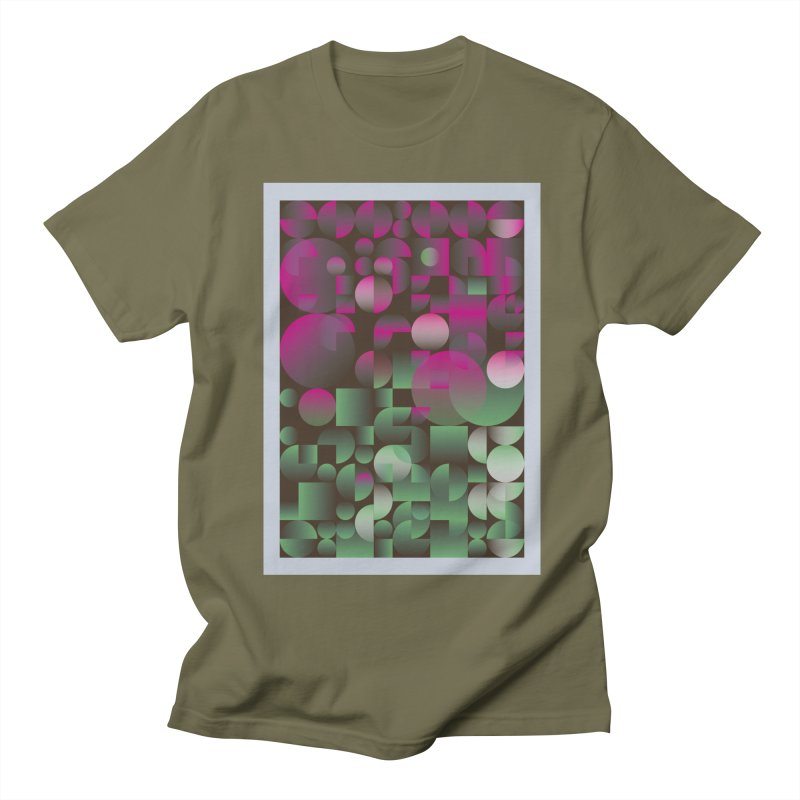 Winter geometric pattern Women's Regular Unisex T-Shirt by virbia's Artist Shop