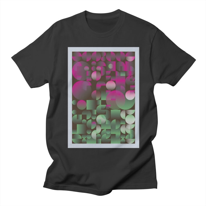 Winter geometric pattern Men's T-Shirt by virbia's Artist Shop