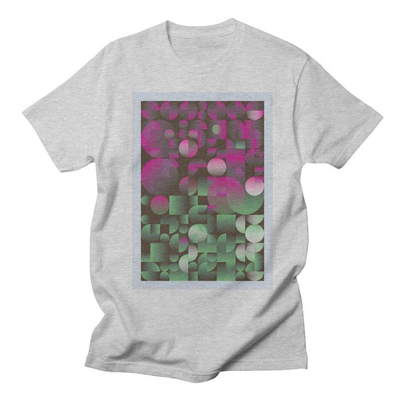 Winter geometric pattern Men's Regular T-Shirt by virbia's Artist Shop