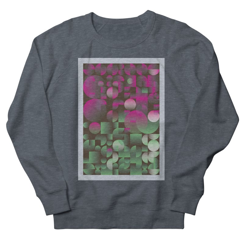 Winter geometric pattern Women's French Terry Sweatshirt by virbia's Artist Shop