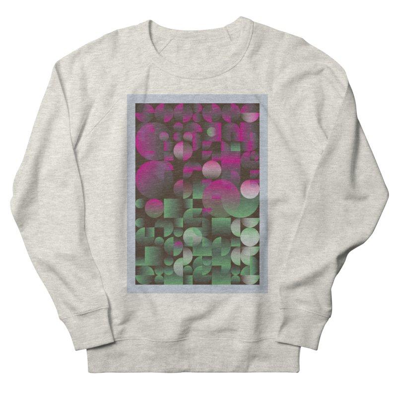 Winter geometric pattern Women's French Terry Sweatshirt by virbia's Artist Shop