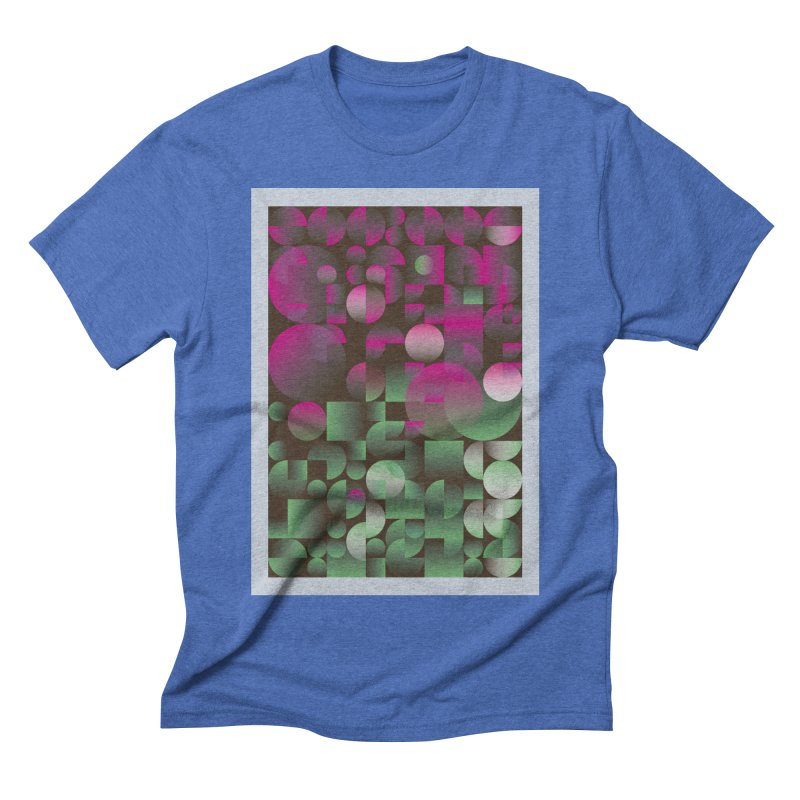 Winter geometric pattern Men's Triblend T-Shirt by virbia's Artist Shop