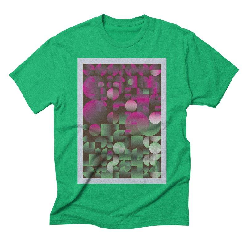 Winter geometric pattern Men's Triblend T-Shirt by virbia's Artist Shop