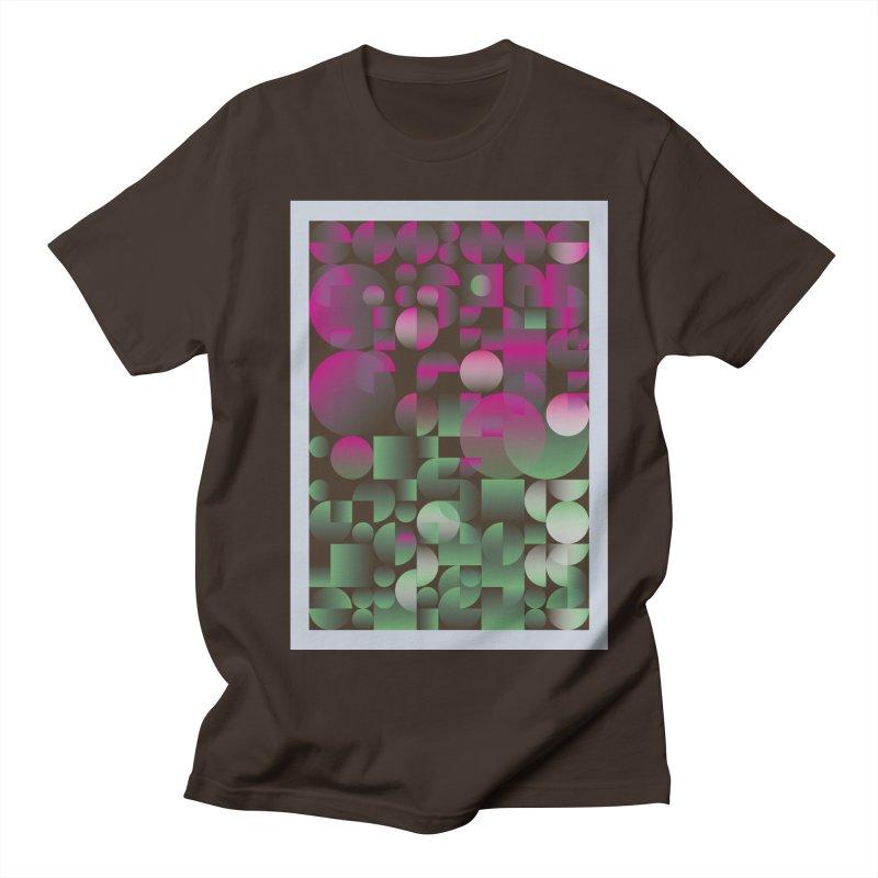 Winter geometric pattern Men's T-Shirt by virbia's Artist Shop