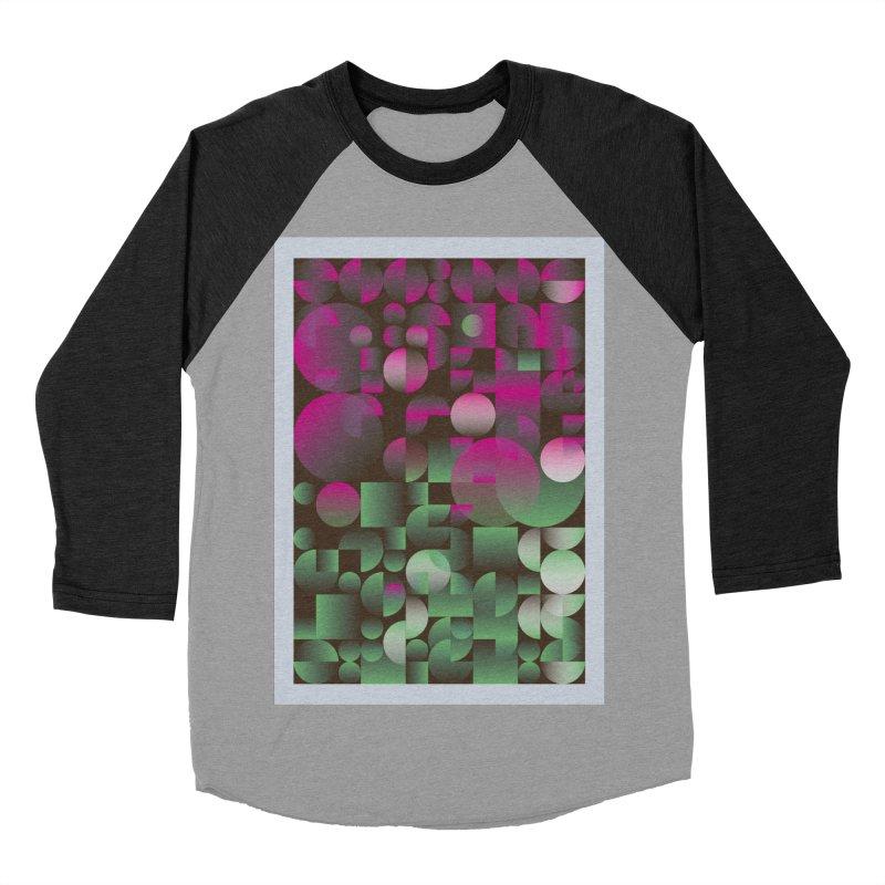Winter geometric pattern Women's Baseball Triblend Longsleeve T-Shirt by virbia's Artist Shop