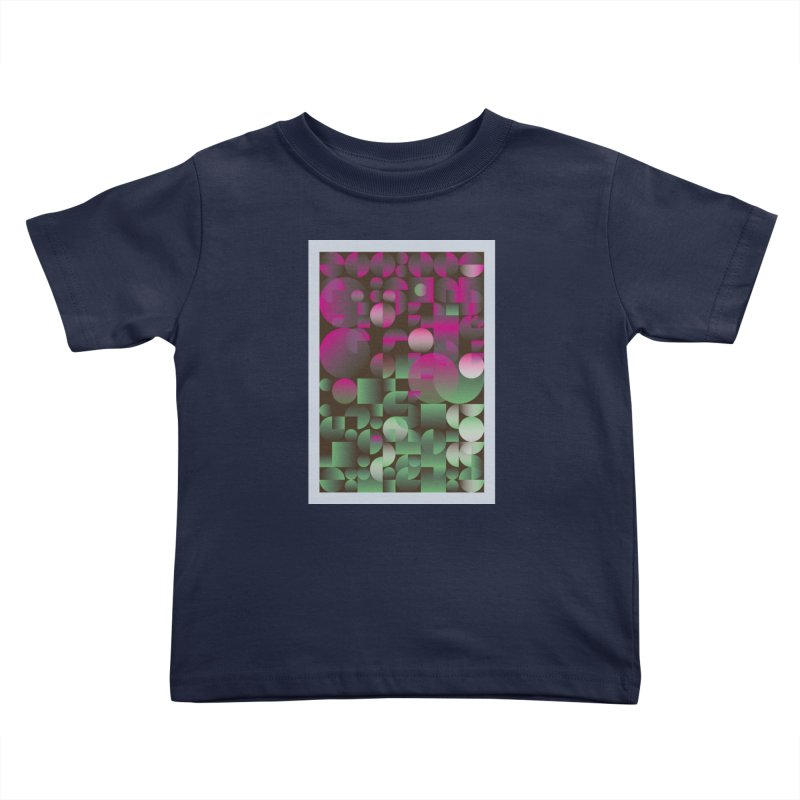 Winter geometric pattern Kids Toddler T-Shirt by virbia's Artist Shop