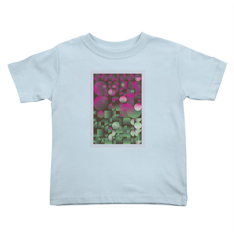 Winter geometric pattern Kids Toddler T-Shirt by virbia's Artist Shop