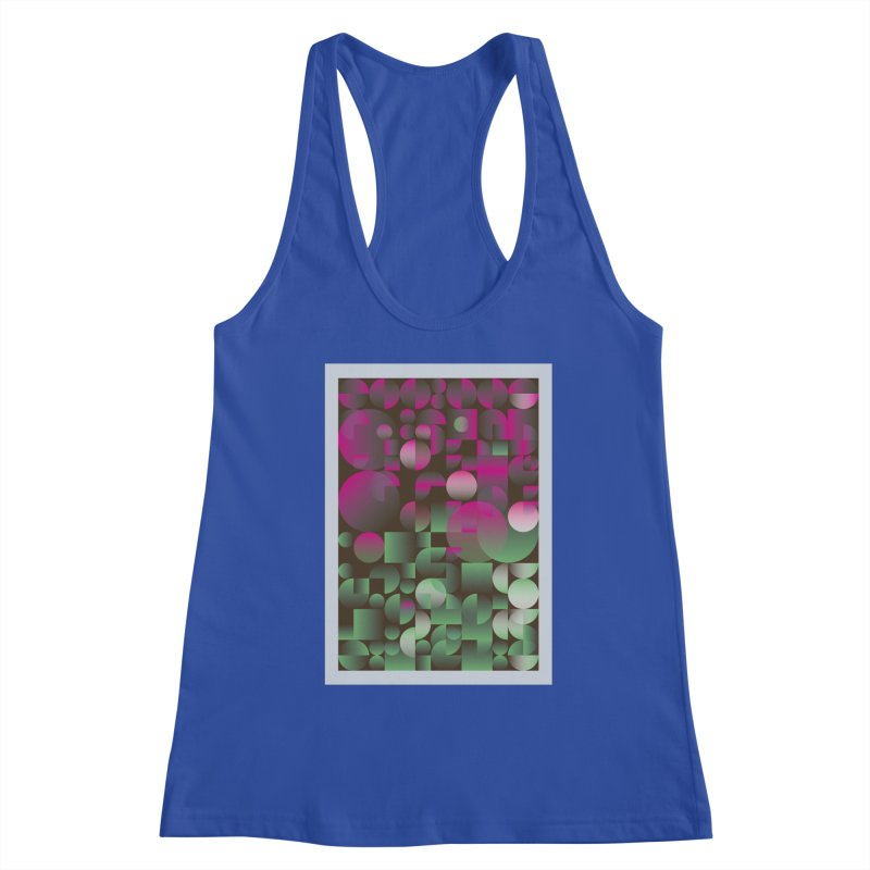 Winter geometric pattern Women's Tank by virbia's Artist Shop
