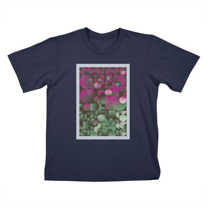 Winter geometric pattern Kids T-Shirt by virbia's Artist Shop
