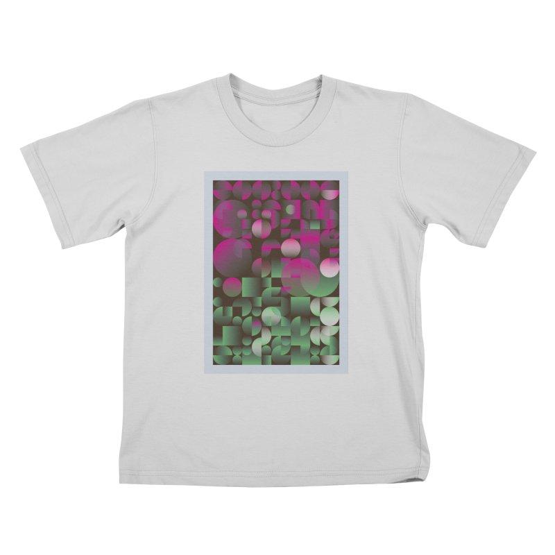 Winter geometric pattern Kids T-Shirt by virbia's Artist Shop