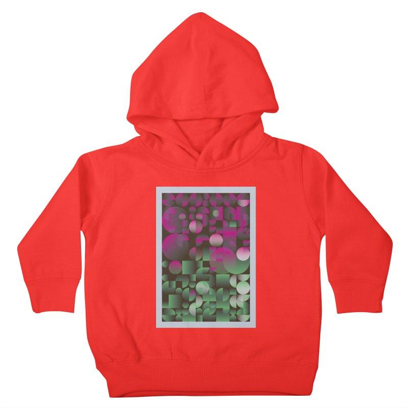 Winter geometric pattern Kids Toddler Pullover Hoody by virbia's Artist Shop