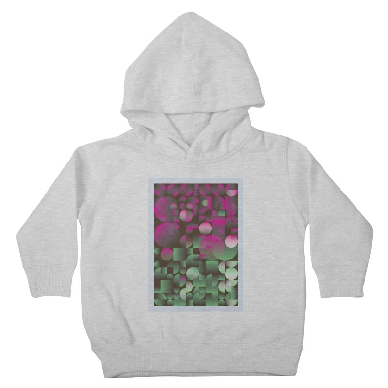 Winter geometric pattern Kids Toddler Pullover Hoody by virbia's Artist Shop