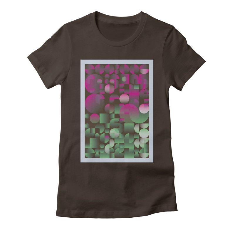 Winter geometric pattern Women's T-Shirt by virbia's Artist Shop