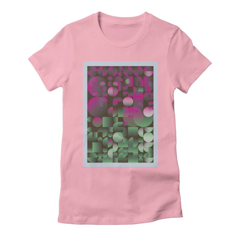 Winter geometric pattern Women's T-Shirt by virbia's Artist Shop