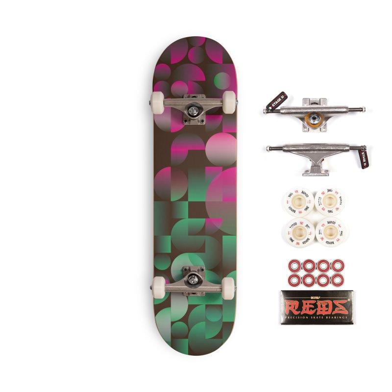 Winter geometric pattern Accessories Complete - Pro Skateboard by virbia's Artist Shop