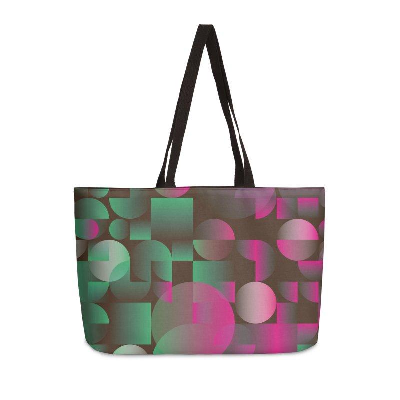 Winter geometric pattern Accessories Weekender Bag Bag by virbia's Artist Shop