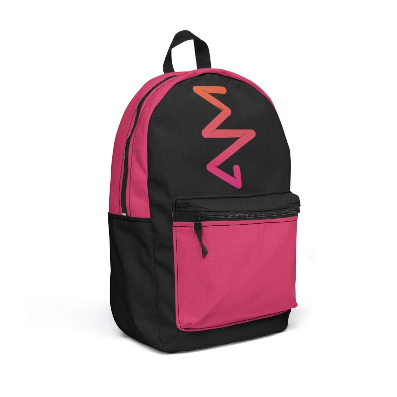 Neon X-ray Accessories Backpack Bag by virbia's Artist Shop