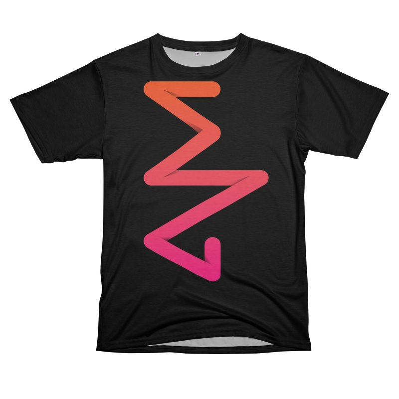 Neon X-ray Women's Unisex T-Shirt Cut & Sew by virbia's Artist Shop