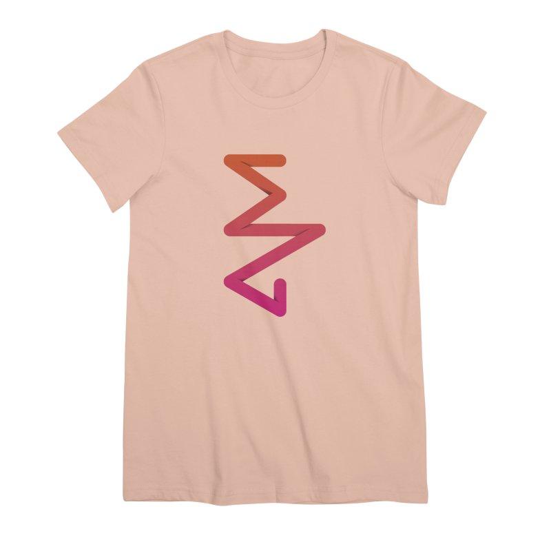 Neon X-ray Women's Premium T-Shirt by virbia's Artist Shop