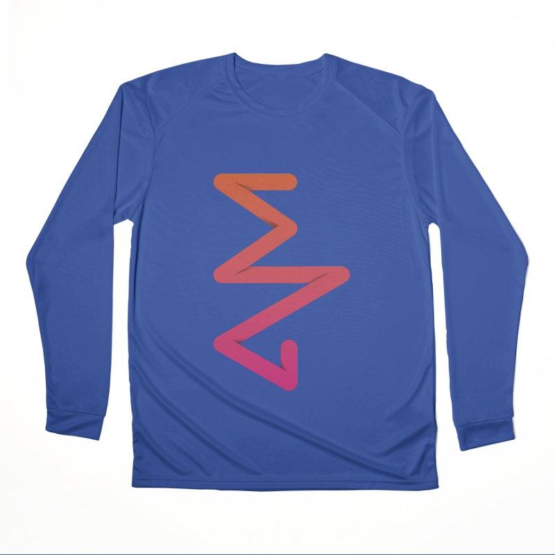 Neon X-ray Men's Performance Longsleeve T-Shirt by virbia's Artist Shop
