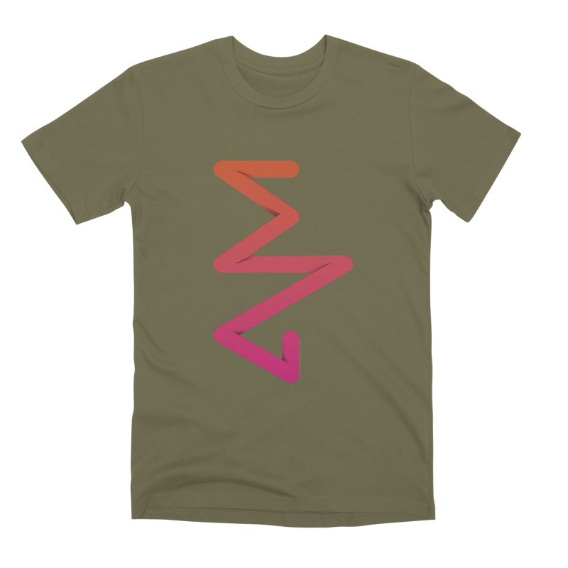 Neon X-ray Men's Premium T-Shirt by virbia's Artist Shop