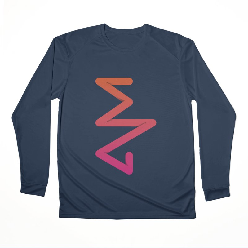 Neon X-ray Men's Performance Longsleeve T-Shirt by virbia's Artist Shop