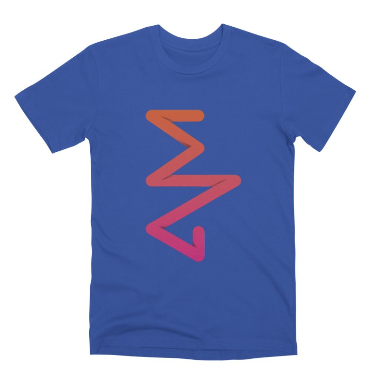 Neon X-ray Men's T-Shirt by virbia's Artist Shop