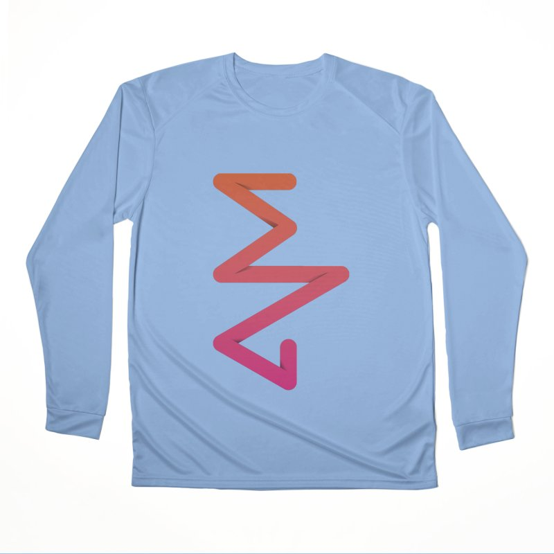 Neon X-ray Women's Performance Unisex Longsleeve T-Shirt by virbia's Artist Shop
