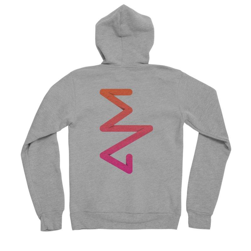 Neon X-ray Men's Sponge Fleece Zip-Up Hoody by virbia's Artist Shop