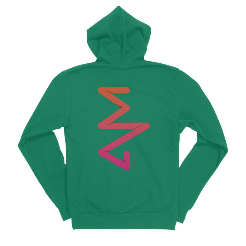 Neon X-ray Women's Sponge Fleece Zip-Up Hoody by virbia's Artist Shop
