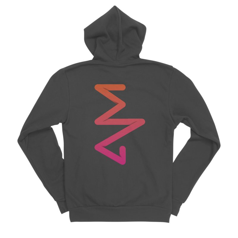 Neon X-ray Men's Sponge Fleece Zip-Up Hoody by virbia's Artist Shop