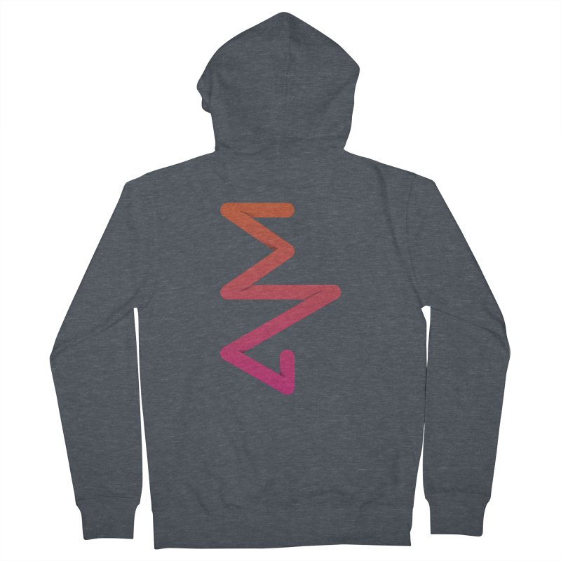 Neon X-ray Men's French Terry Zip-Up Hoody by virbia's Artist Shop