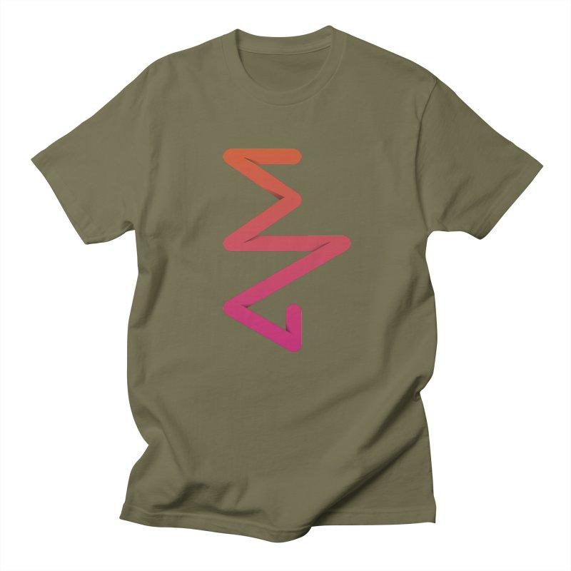 Neon X-ray Men's Regular T-Shirt by virbia's Artist Shop