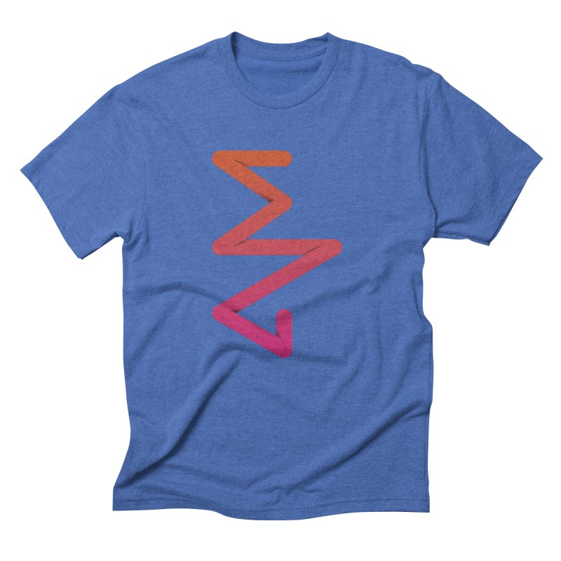 Neon X-ray Men's Triblend T-Shirt by virbia's Artist Shop