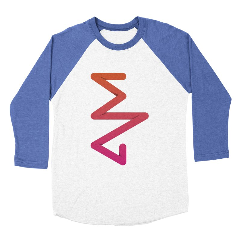 Neon X-ray Men's Baseball Triblend Longsleeve T-Shirt by virbia's Artist Shop