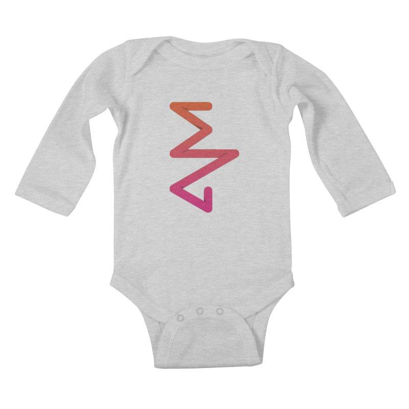 Neon X-ray Kids Baby Longsleeve Bodysuit by virbia's Artist Shop