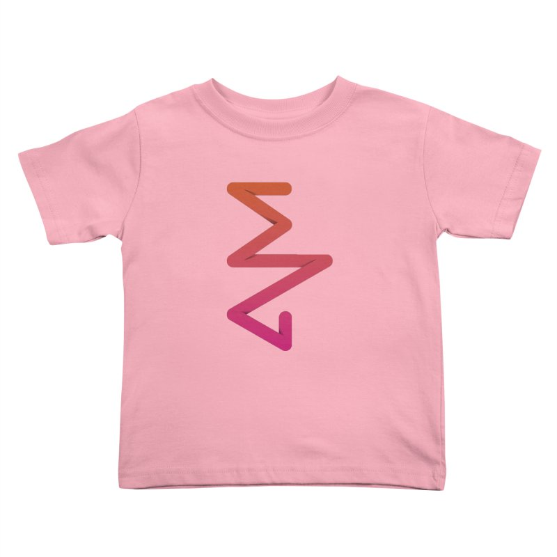 Neon X-ray Kids Toddler T-Shirt by virbia's Artist Shop