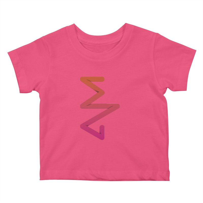 Neon X-ray Kids Baby T-Shirt by virbia's Artist Shop