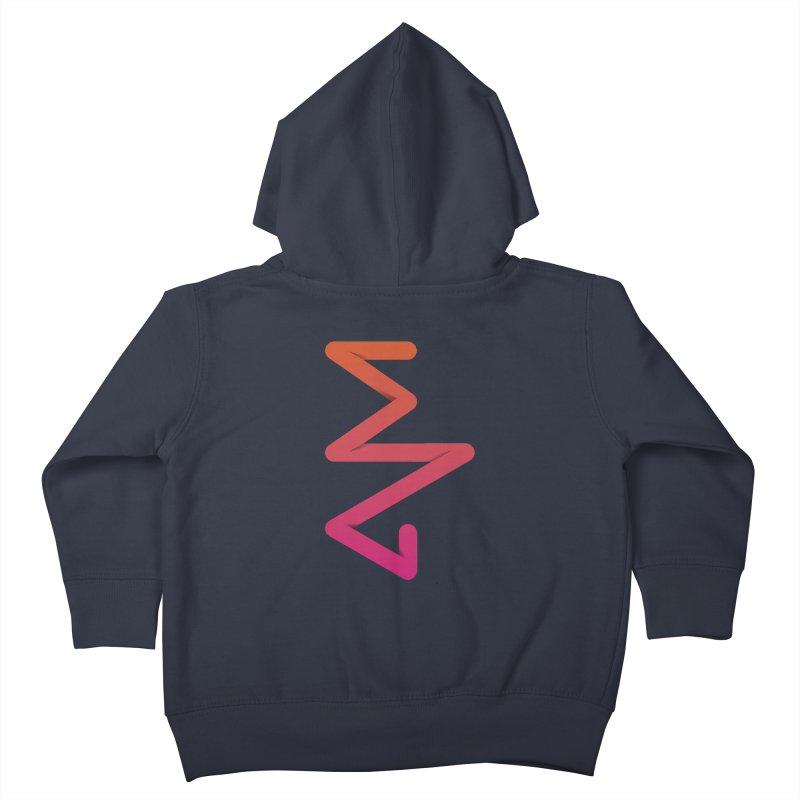 Neon X-ray Kids Toddler Zip-Up Hoody by virbia's Artist Shop