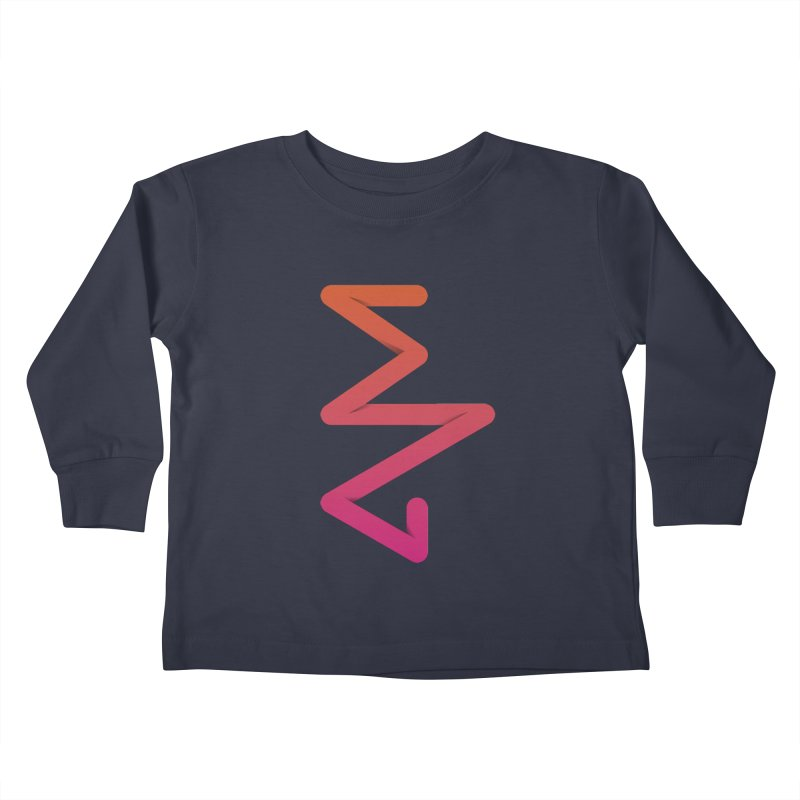 Neon X-ray Kids Toddler Longsleeve T-Shirt by virbia's Artist Shop