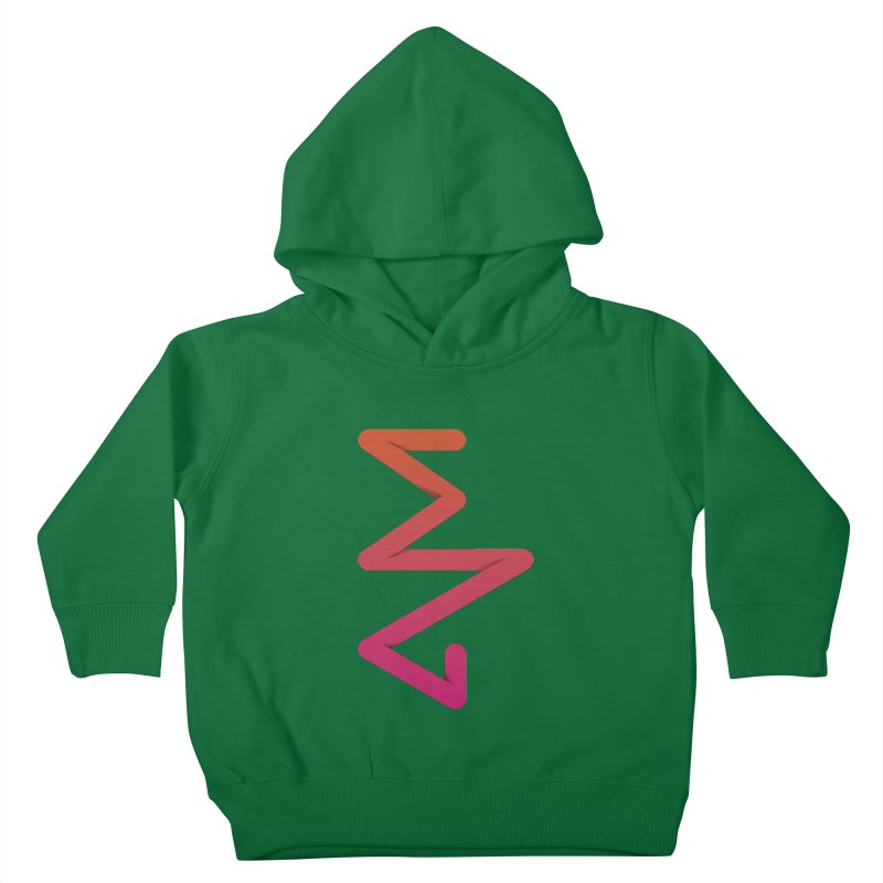 Neon X-ray Kids Toddler Pullover Hoody by virbia's Artist Shop