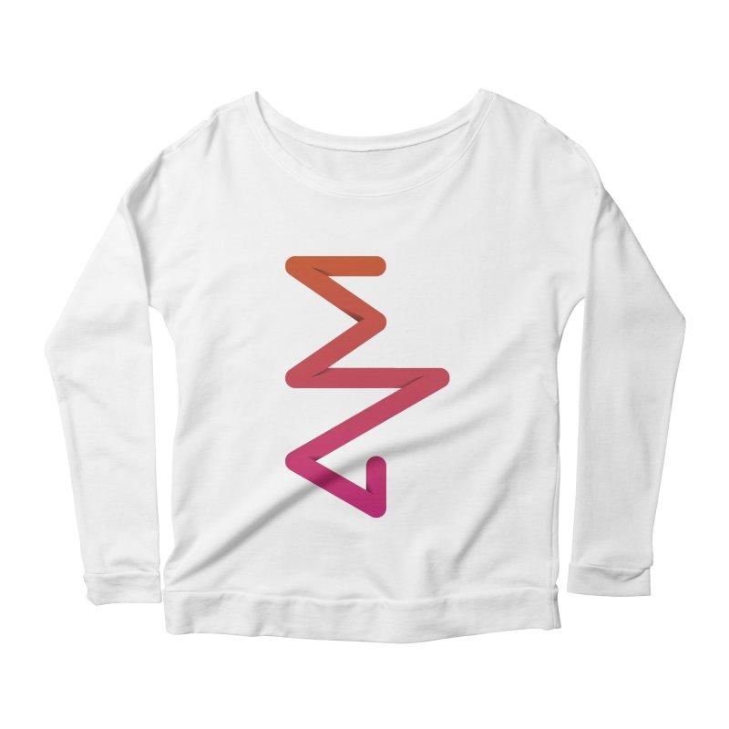 Neon X-ray Women's Scoop Neck Longsleeve T-Shirt by virbia's Artist Shop