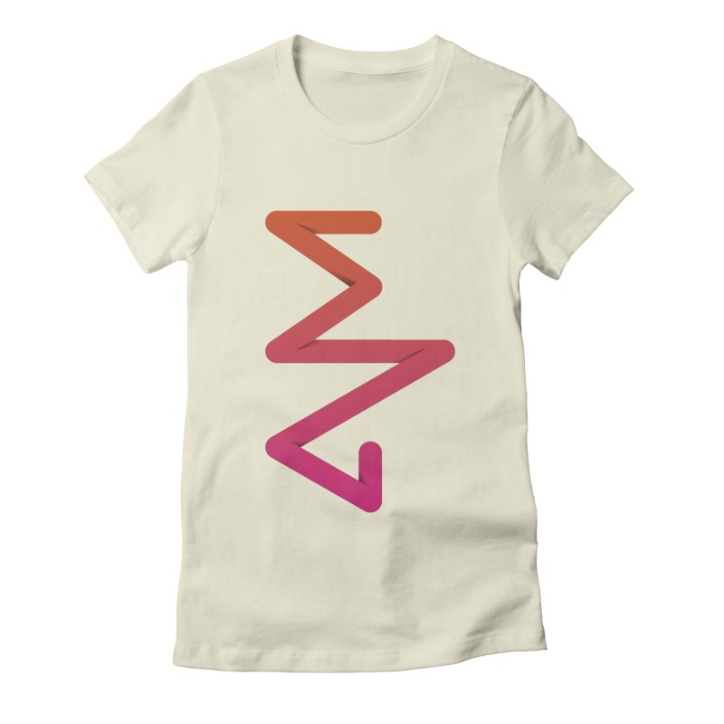 Neon X-ray Women's Fitted T-Shirt by virbia's Artist Shop