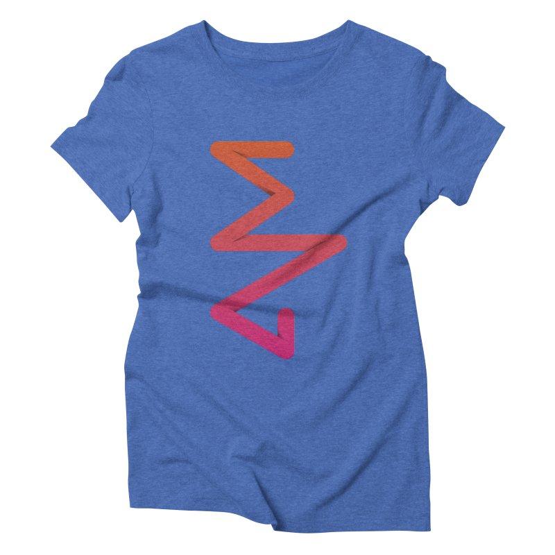 Neon X-ray Women's Triblend T-Shirt by virbia's Artist Shop