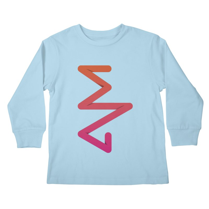 Neon X-ray Kids Longsleeve T-Shirt by virbia's Artist Shop