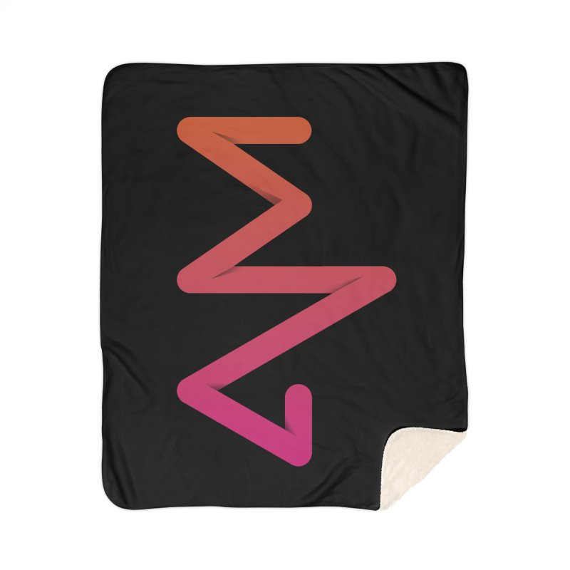 Neon X-ray Home Sherpa Blanket Blanket by virbia's Artist Shop