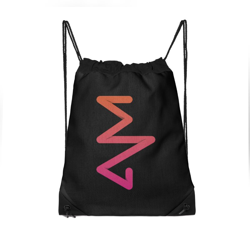 Neon X-ray Accessories Drawstring Bag Bag by virbia's Artist Shop