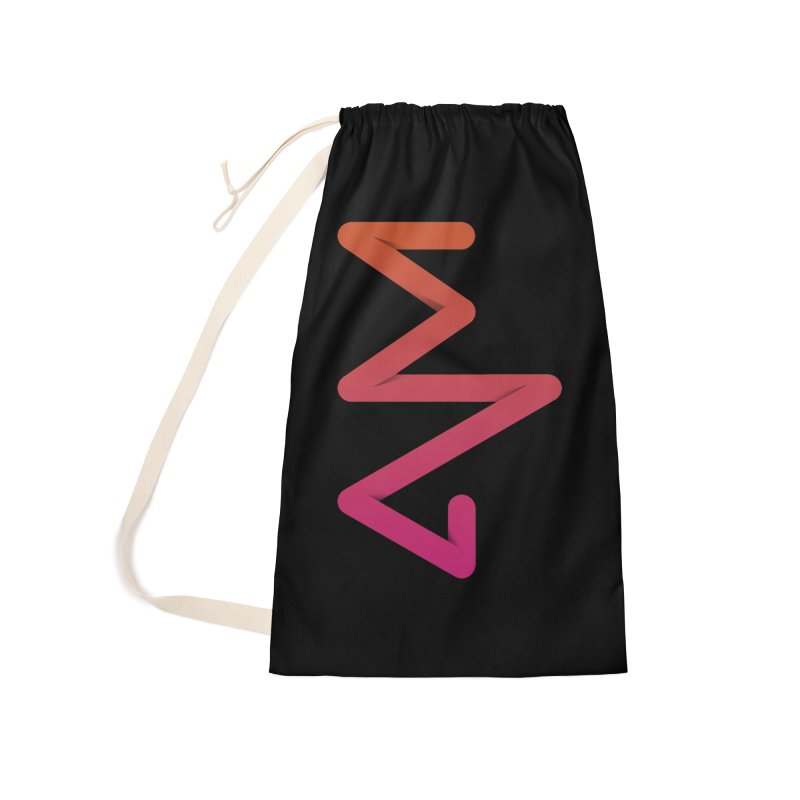 Neon X-ray Accessories Laundry Bag Bag by virbia's Artist Shop