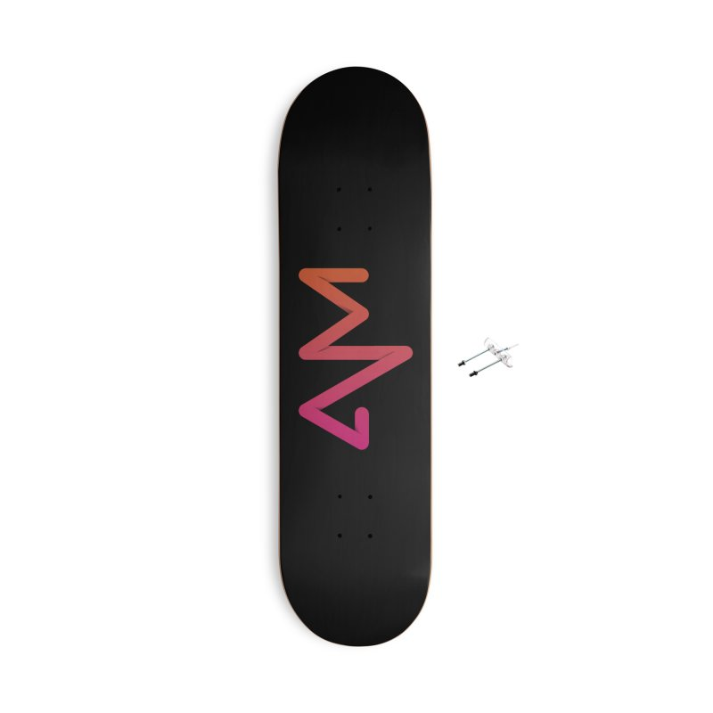 Neon X-ray Accessories With Hanging Hardware Skateboard by virbia's Artist Shop