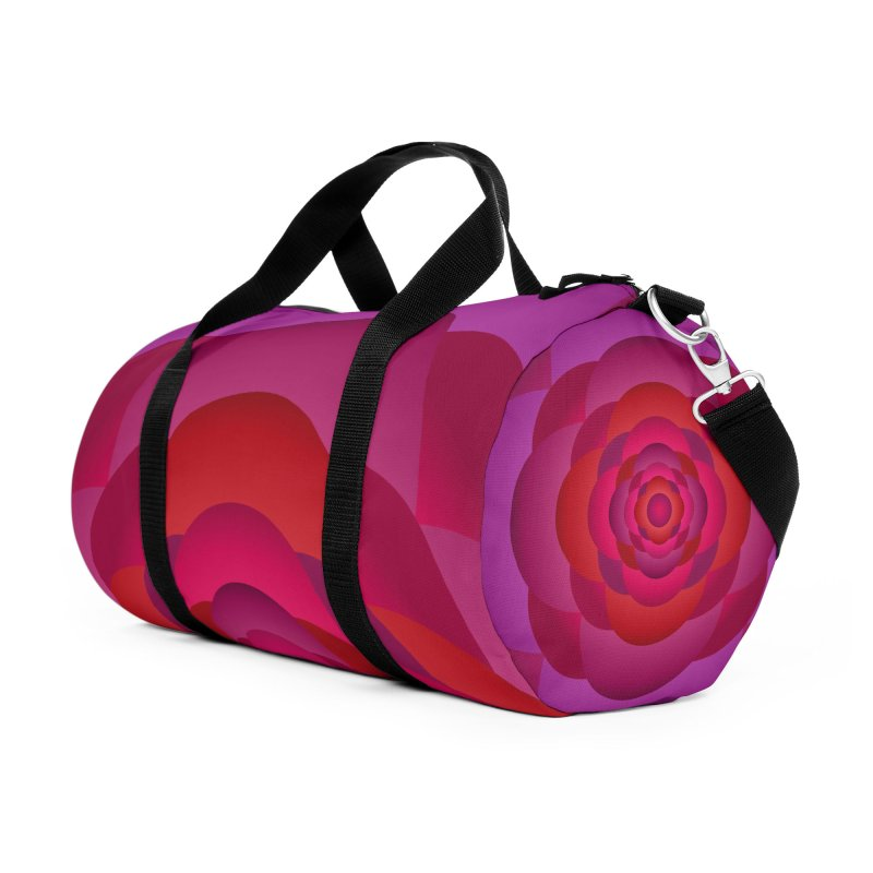 Flower Power Rose Accessories Bag by virbia's Artist Shop
